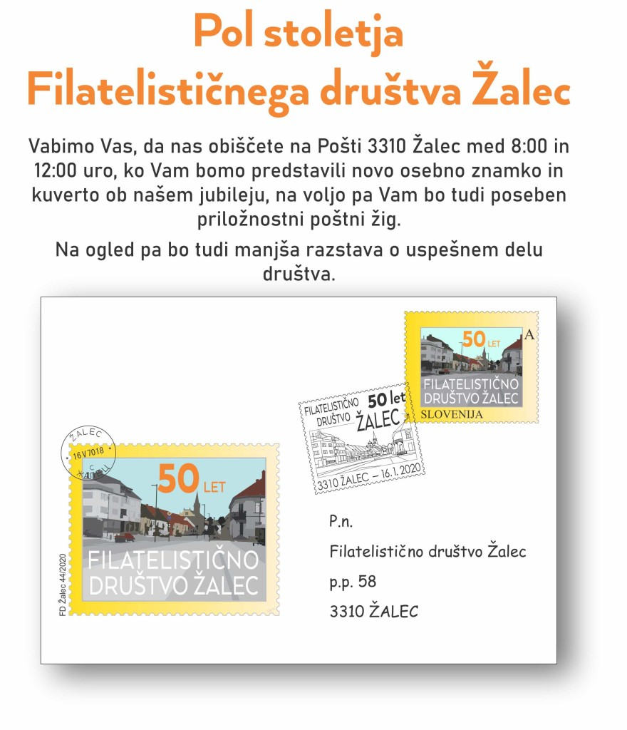 50 let FD Zalec - za splet