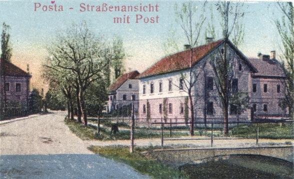 Lokacija prve Pošte v Žalcu