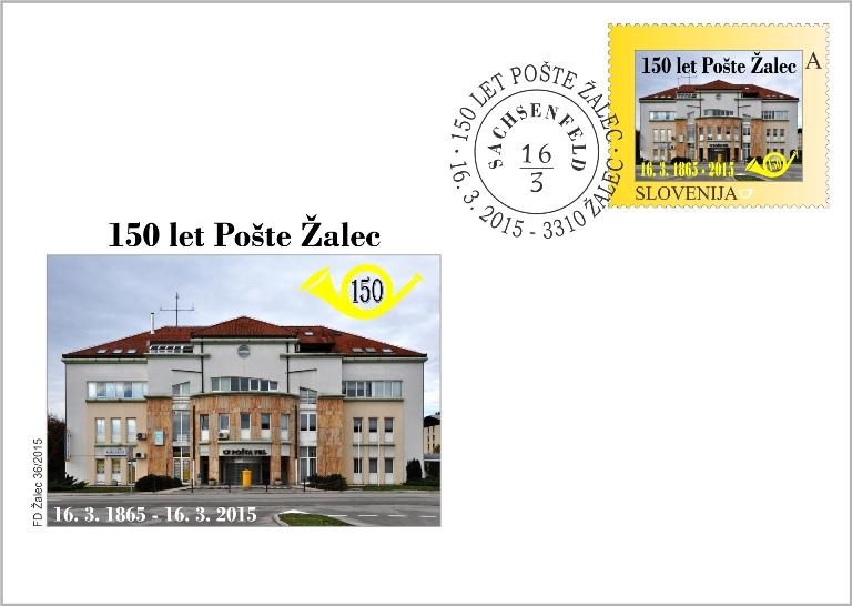 kuverta 150 let Poste Zalec - za splet 2